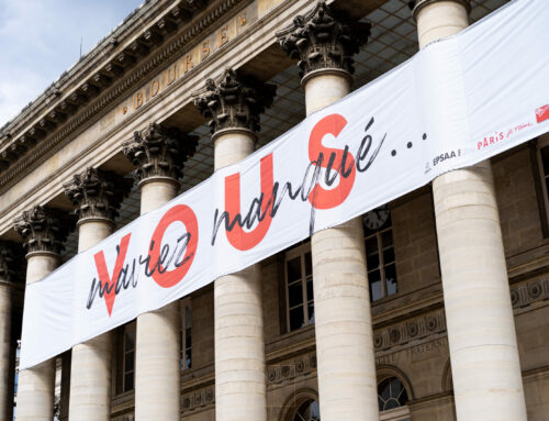 Deuxième édition de « StreetPacking » :  quand le Palais Brongniart déclare sa flamme aux Parisiens