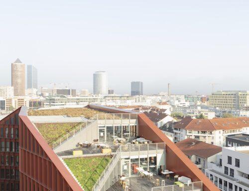 HGA-Hubert Godet Architectes  & Hardel Le Bihan Architectes livrent ensemble le nouveau  Campus Orange à la Part-Dieu