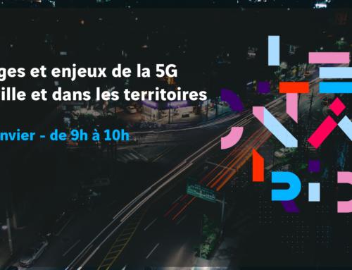 Usages et enjeux de la 5G en ville et dans les territoires