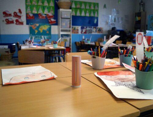 Netatmo équipe l'école Charles de Foucauld (Paris 14ème) et l'aide à améliorer la qualité de l'air dans les salles de classe