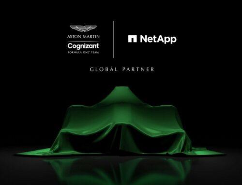 NetApp rejoint l'équipe de Formule 1 Aston Martin Cognizant et inaugure la stratégie de course automobile basée sur les données