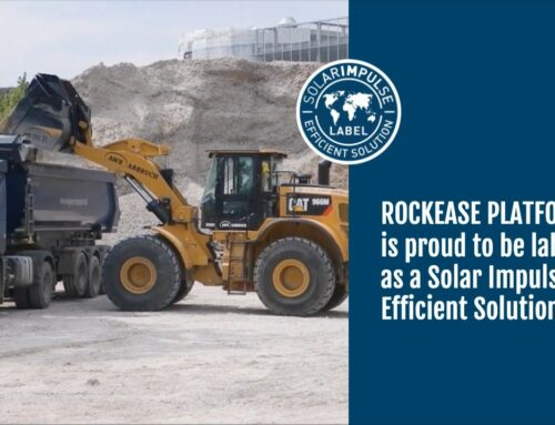 Rockease reçoit le label « Solar Impulse Efficient Solution »